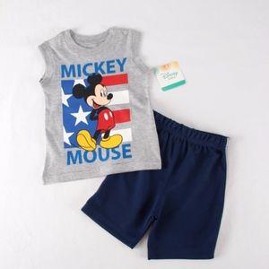 Disney Boys 18 mo Mickey MouseTank Set  NEW